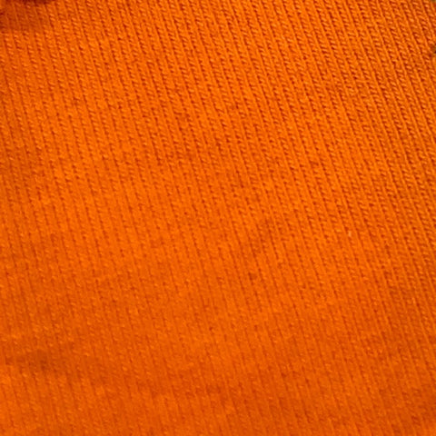 Solids - 230GSM Marigold Orange Cotton/Spandex
