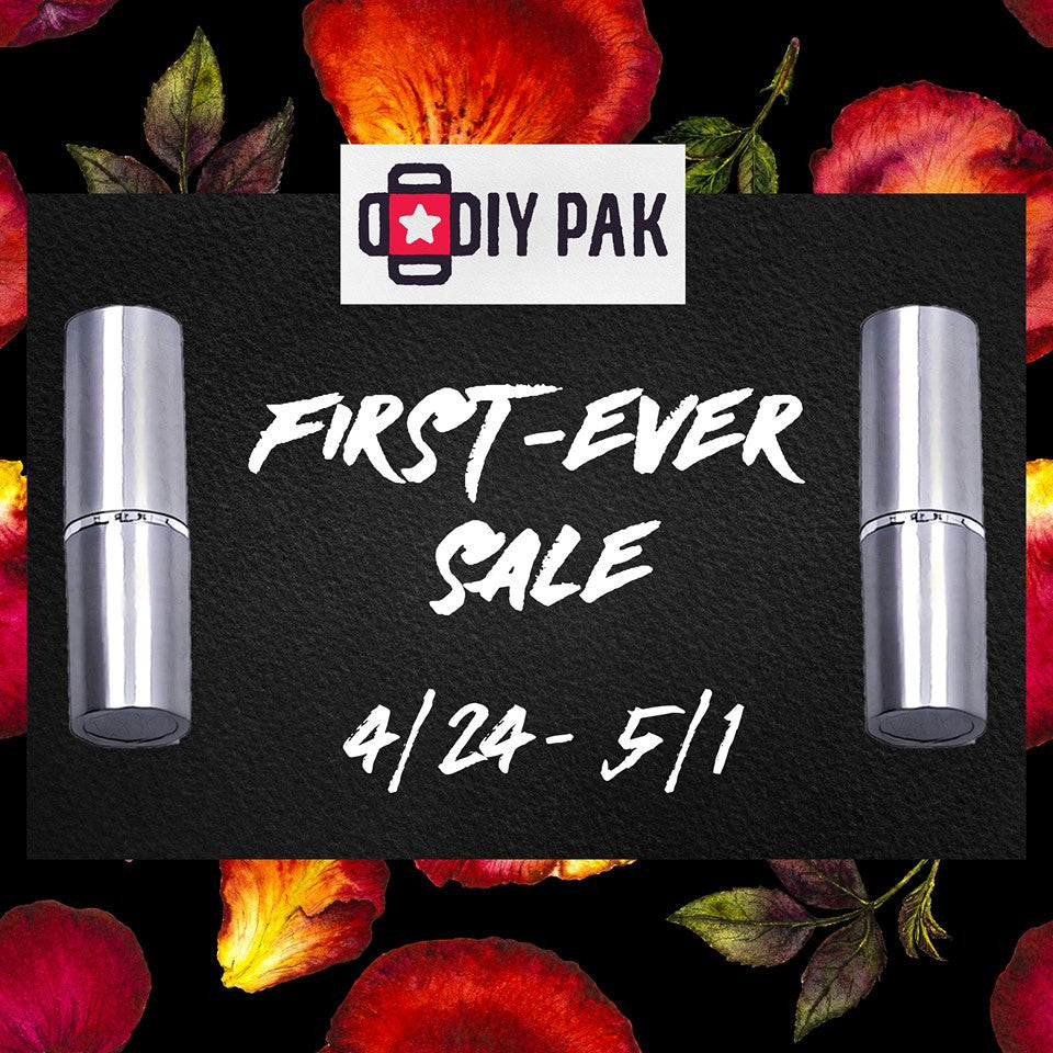 DIY PAK's First Ever Sale - 4/24-5/1