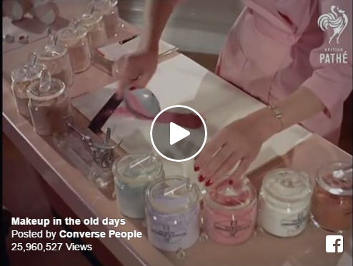 Classic Makeup - How Pressed Powder Was Made