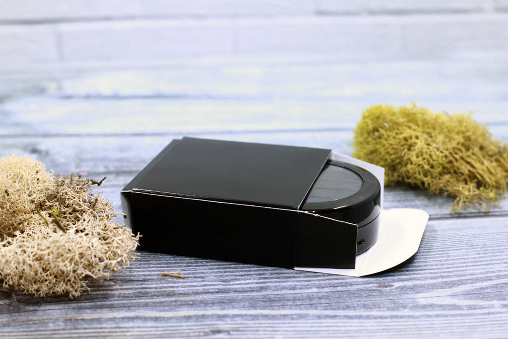 DIY PAK-Cosmetic Box - High 37mm Compact - Black-Make your own professional makeup/cosmetics