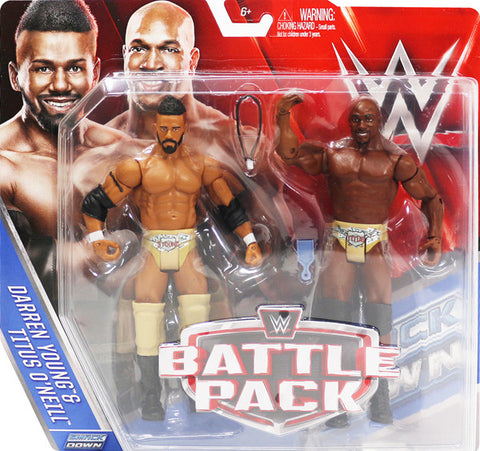 WWE Battle Pack Prime Time Players
