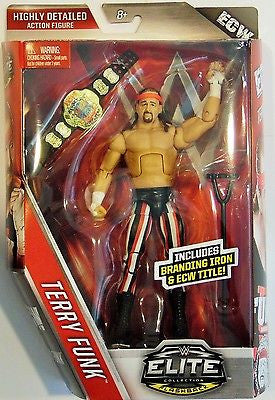 WWE Elite Collection Flashback Terry Funk