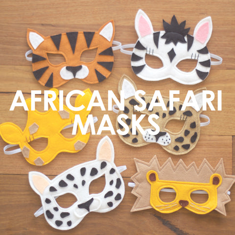 African Safari Mask