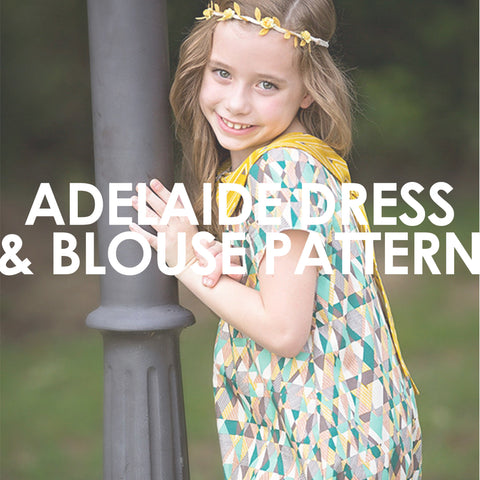 Adelaide Dress and Blouse Pattern
