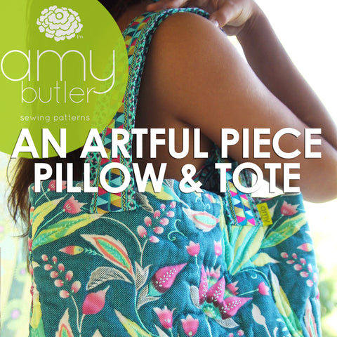 An Artful Piece Pillow and Tote