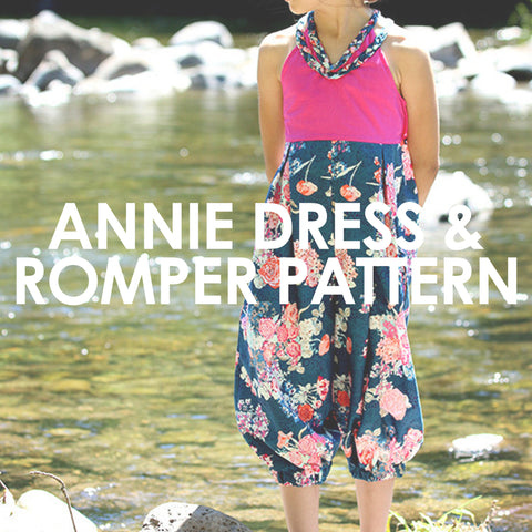Annie Dress and Romper
