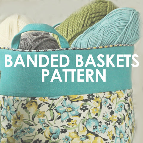 Banded Baskets
