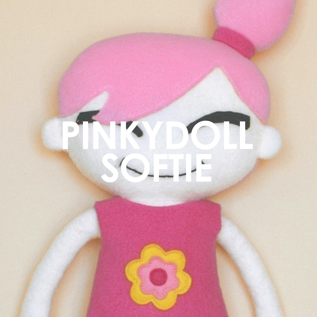 Pinky Doll Soft Toy