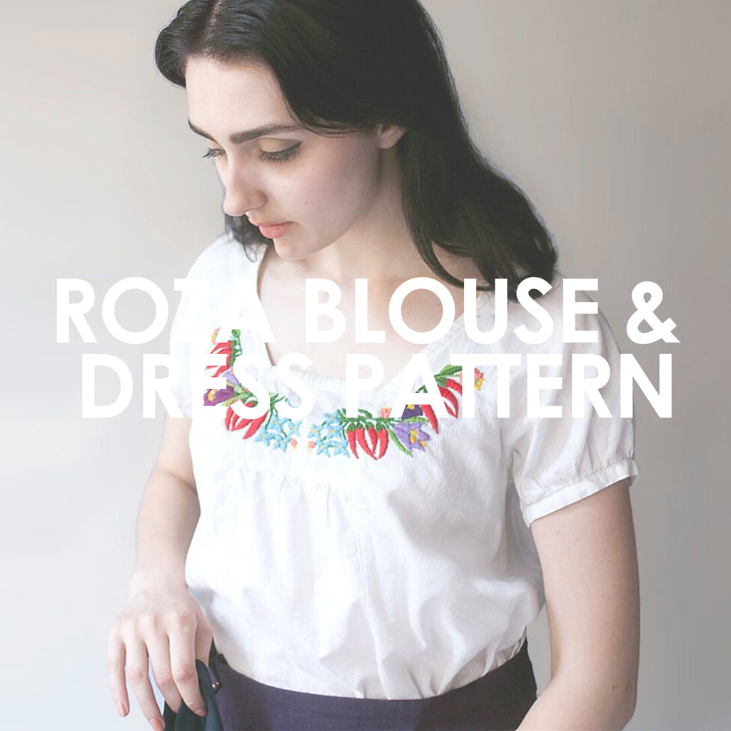 Roza Blouse & Dress