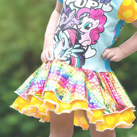 Aubrey Circle Skirt Dress