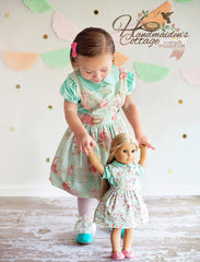 Elizabeth Pinafore and Eden Blouse