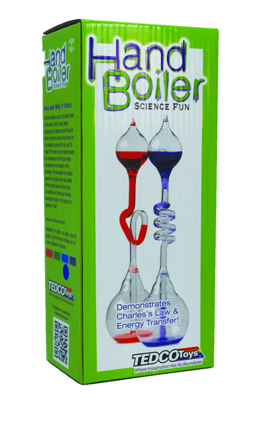 "Hand ""Boiler"" - Super Fast (TEDCO) Educational Products - Science & Engineering Toy"