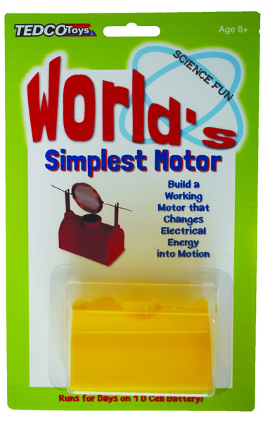 Make Your Own Electric Motor (for less than $10) Educational Products - Science & Engineering Toy