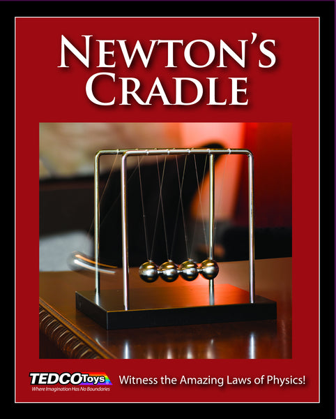 Newton's Cradle (TEDCO)  - Science & Engineering Toy