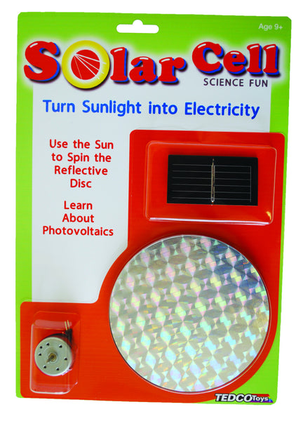 Solar Cell Science Fun  - Science & Engineering Toy