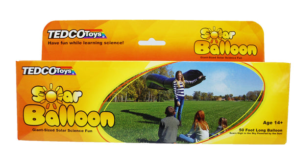 Solar Balloon - 50' (TEDCO) - Prepare to be Popular at Your Local Park!  - Science & Engineering Toy