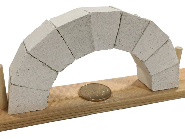 Roman Arch Mini-Lab - Amazingly Easy to Build yet Very Strong! Educational Products - Science & Engineering Toy