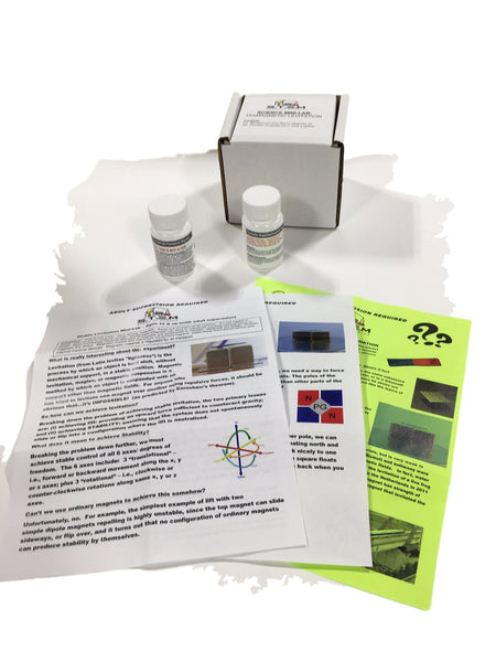 Levitation with Space Age Materials - Mini-Lab ***SPRING BREAK SPECIAL!!!*** Educational Products - Science & Engineering Toy