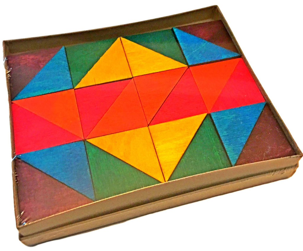 Mosaic Triangles (96-pack) (Made in USA)  - Science & Engineering Toy