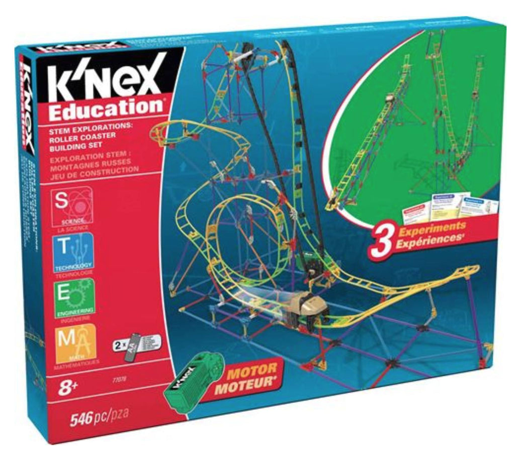 K'NEX Education Stem Explorations Roller Coaster Building Set  - Science & Engineering Toy