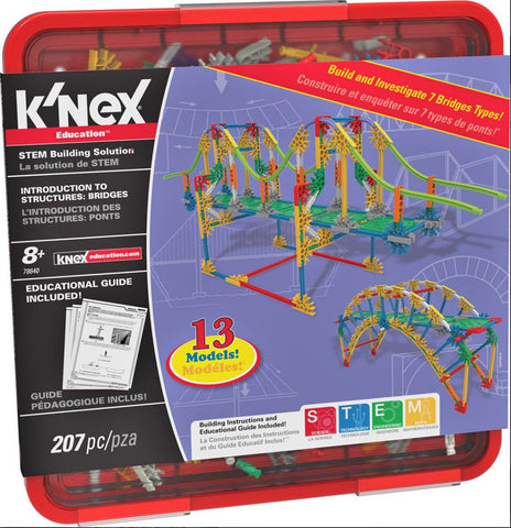 K'NEX® Education Intro to Structures: Bridges Engineering - Science & Engineering Toy