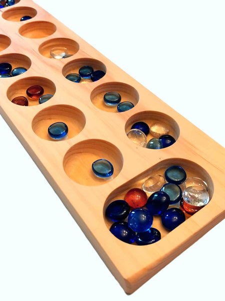 Mancala - An Ancient Game from Africa (Beware...Very Addictive) Math Game - Science & Engineering Toy