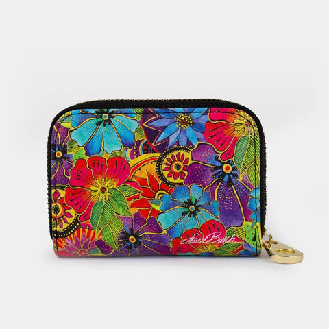 Licensed Laurel Burch Identity Theft Zippered Wallet