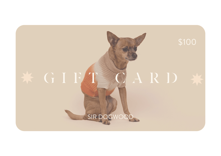 Digital Gift Card - Sir Dogwood