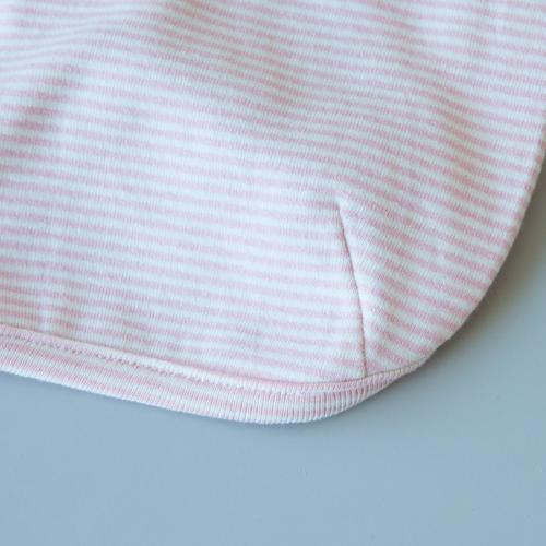 Striped Baby T-Shirt Pink