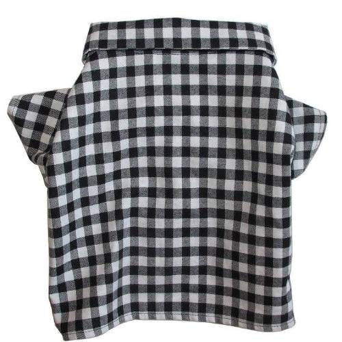 Gingham Button Down for Gentle Giants