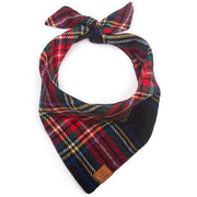 Stewart Plaid Wool Bandana - Sir Dogwood