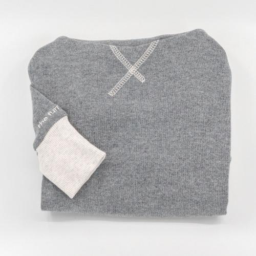 High Neck Tee Grey - Sir Dogwood