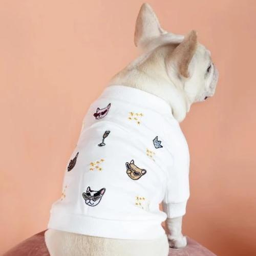 GG x Fine Frenchie Sweater - Sir Dogwood