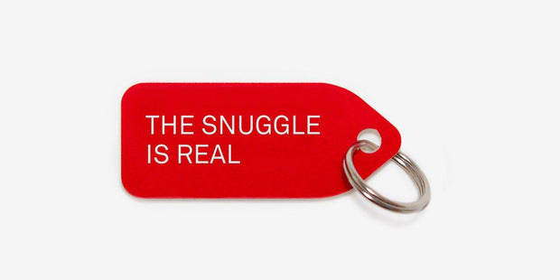 The Snuggle Is Real Collar Charm - Sir Dogwood