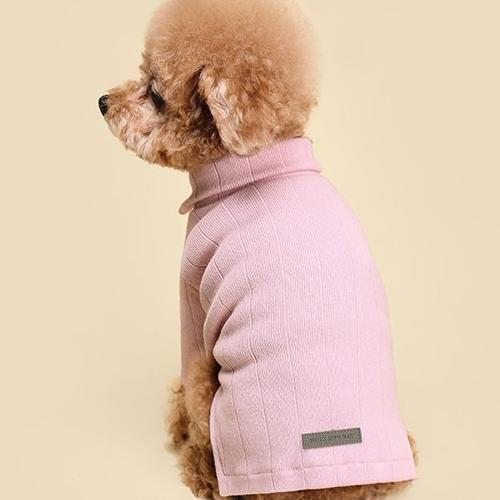 Collar Knit Top Pink - Sir Dogwood