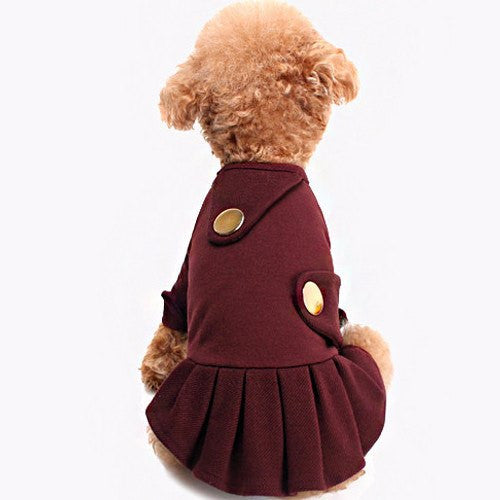 Double Button Dress - Sir Dogwood