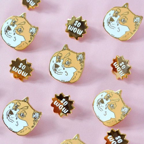 Doge Pin Set