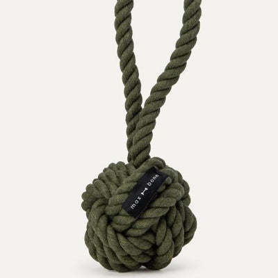 Large Rope Toy Olive - Sir Dogwood