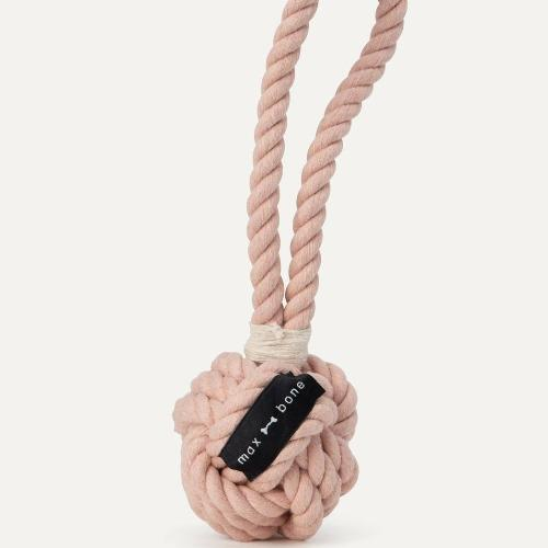 Small Rope Toy Dusty Pink - Sir Dogwood