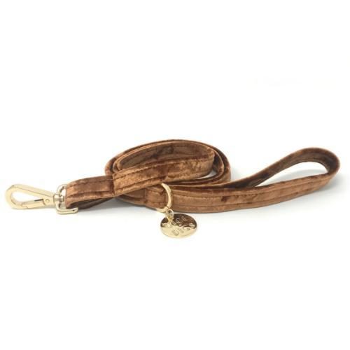 Velvet Leash Copper - Sir Dogwood