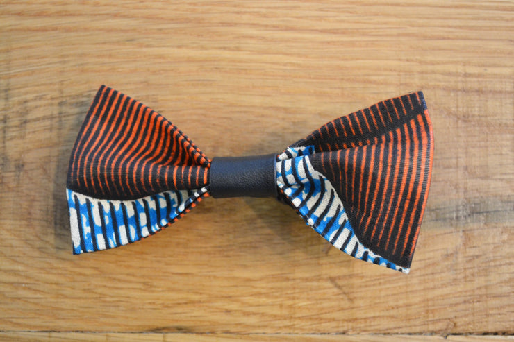 African Print Dutch Wax Bow Tie - Sir Dogwood