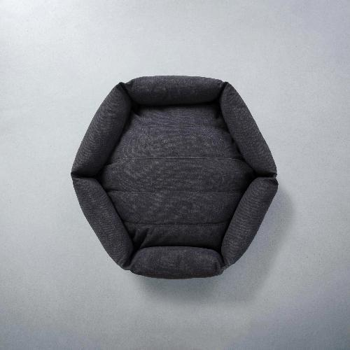 Canvas Hex Cushion - Shadow - Sir Dogwood