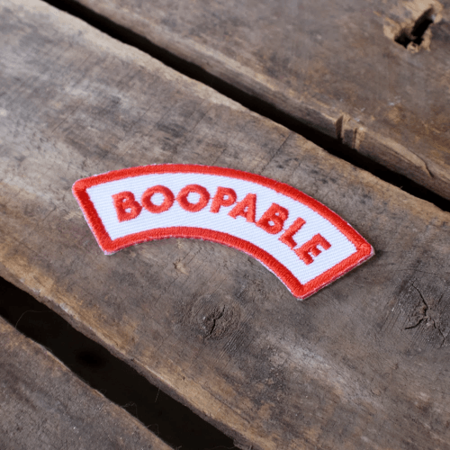 Boopable Merit Badge - Sir Dogwood