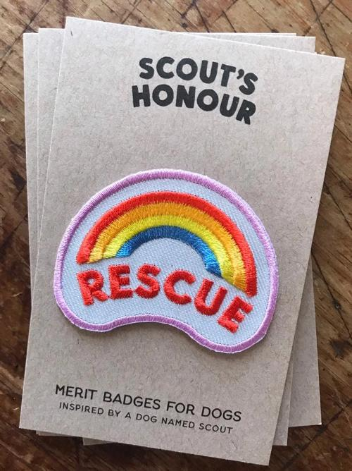 Rescue Merit Badge - Sir Dogwood