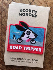 Road Tripper Merit Badge - Sir Dogwood