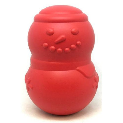 Snowman Toy Red - Sir Dogwood