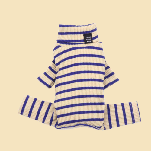Daily Ribbed Stripe All-In-One Sand