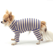 Daily Ribbed Stripe All-In-One Sand - Sir Dogwood