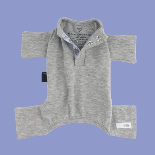Series 7 Onesie Grey - Sir Dogwood