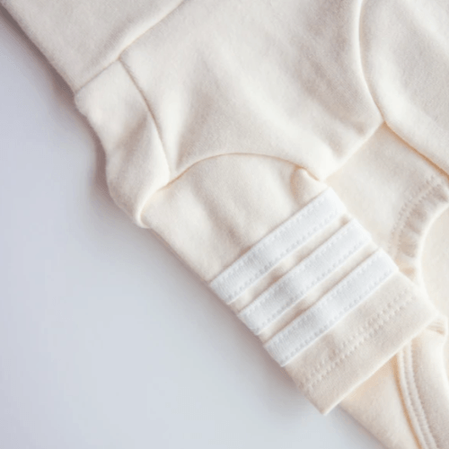Stripe Point Turtleneck Cream - Sir Dogwood